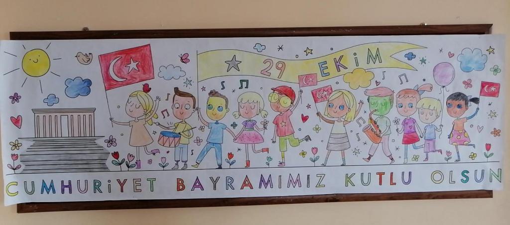 2c 29 Ekim Cumhuriyet Bayrami Boyama Calismasi Etkinligi